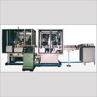 Automatic Multihead Liquid Filling Line With Multihead Seamer 