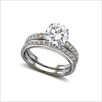 Wedding Platinum Diamond Rings