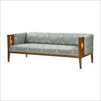 TEAK WOOD DESIGNER SOFA