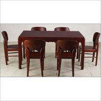 TEAK WOOD DINNING TABLE WITH CHAIRS