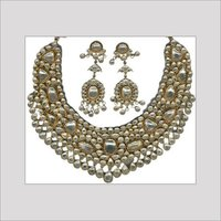 POLKI DIAMOND NECKLACE SET