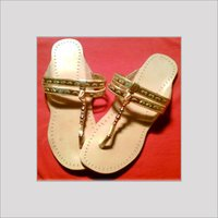 Beaded Kolhapuri Chappals