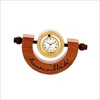 MAPLE ROCKING TABLE CLOCK