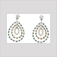 COLOR DIAMOND EARRINGS