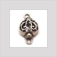 SILVER BOX CLASP BEADS