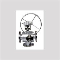 3-Way Bottom Entry Ball Valve