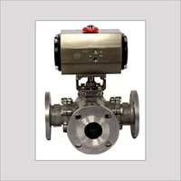 3 Way Ball Valve With Actuator