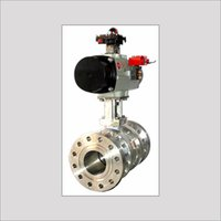 Tongue & Groove Design Ball Valve With Automation