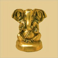 Brass Appu Ganesh Statue