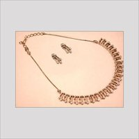 Diamond Beaded Necklaces