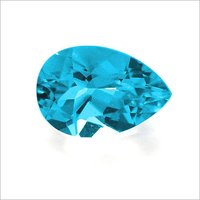 PEAR SHAPE BLUE TOPAZ