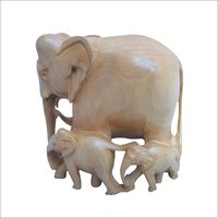 Wooden Elephant