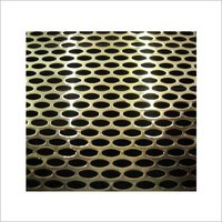 Perforated Sheet - Oval Design