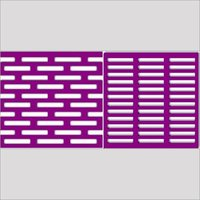 Perforated Sheet - Rectangle Holes