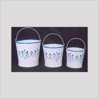 BRASS METAL DESIGNER BUCKETS