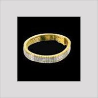 DIAMOND STUDDED GOLD BANGLES
