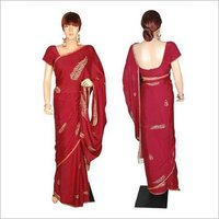 Embroided Saree