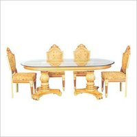 Teak Wood Pembroke Style Dinning Table