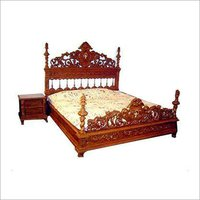 Antique Wood Beds