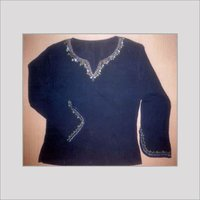 Designer Embroidered Ladies Top