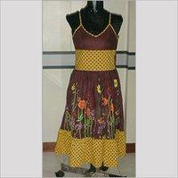 Designer Ladies Printed Dress