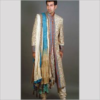 Silk Sherwani
