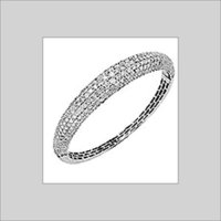 DESIGNER DIAMOND STUDDED BANGLES