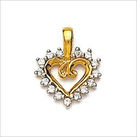 DIAMOND STUDDED PENDANT