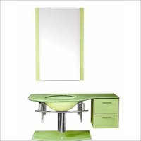 WASH ROOM MIRROR & CABINETS WITH DRAWER