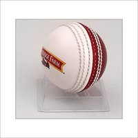 WHITE CRICKET BALL