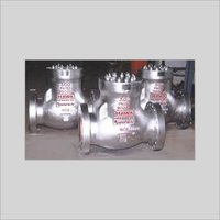 PRESSURE SEAL COVER CHECK VALVE
