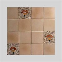 LIGHT BROWN GLAZE TILE