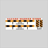 Tow Way Hazard Marker