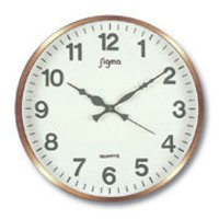 Round Analog Wall Clock
