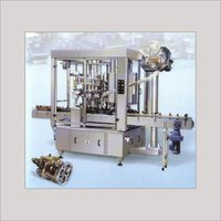 Automatic Volumetric Filling Cum Capping Machine
