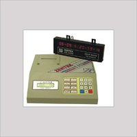 Alpha Numeric Billing Machine