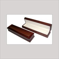 Imported Wood Leather Chain/Bracelet Jewellery Box