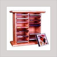 Wooden CD Racks