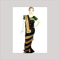 Antique Work Sarees