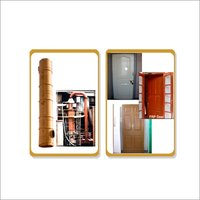 Fiberglass Pipe & Door