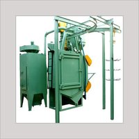Hanger Type Shot Blasting Machine With Y-Conveyor