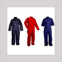 Zipped Boiler Suit