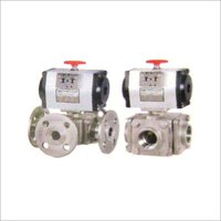Ball Valve Pneumatic Actuator Operated