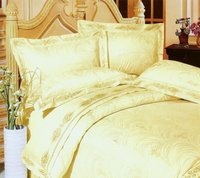 Satin Large Jacquard Bedding Set
