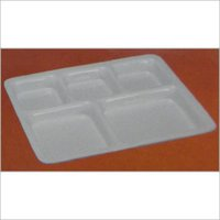 Rectangle Shape Serving Acrylic Plates
