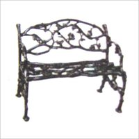 CAST IRON ORNAMENTAL SITTING BENCHES