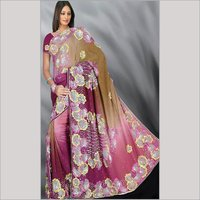 Pure Crape Saree