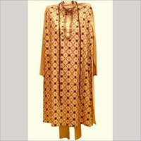 Men's Cotton Silk Punjabi Kurta
