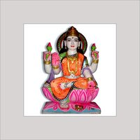 Marble Idol Of Goddess Laxmi Ji