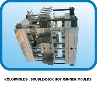 Double-Deck Hot Runner Moulds